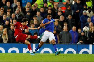 Liverpool 1-0 Everton: Curtis Jones tạo siêu phẩm