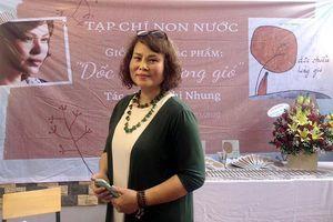 Nỗi buồn tím biếc trong thơ Võ Thi Nhung