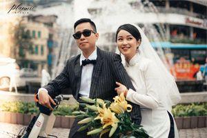 Hot girl đời đầu Mi Vân chụp ảnh cưới long lanh ở Hà Nội