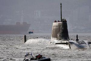 Tàu ngầm Anh vào vị trí sẵn sàng tấn công Iran