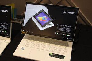 Acer ConceptD 7 Ezel có màn hình xoay lật 4K, chip Intel Xeon, giá từ 2699 USD