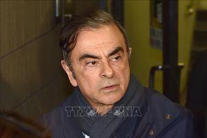 Nhật Bản gây sức ép, hối thúc Liban dẫn độ cựu Chủ tịch Nissan C. Ghosn