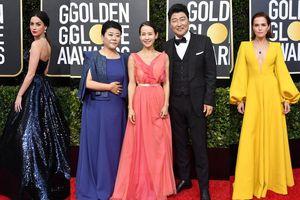 Thảm đỏ 'Quả Cầu Vàng 2020': Bộ ba diễn viên phim 'Ký sinh trùng' đại diện châu Á xuất hiện bên dàn sao đình đám Hollywood