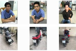 Xóa tụ điểm mua bán xe gian ở Sài Gòn