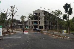 Xây dựng và bán Khu biệt thự Vườn Vạn Tuế khi chưa đủ điều kiện