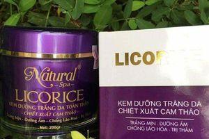 4 mỹ phẩm dưỡng da của Công ty Ngô Thanh Phú bị thu hồi là loại nào?