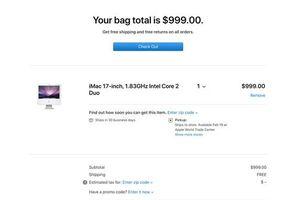 Apple vẫn đang bán đồ cổ với mức giá kỳ quặc