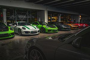 Khám phá kho lưu trữ 'hàng khủng' của thương hiệu Porsche
