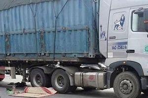 Xe tải đâm tử vong người đi xe đạp nhặt ve chai