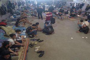 Hơn 100 chiến sĩ triệt phá ổ nhóm 60 con nghiện bảo kê vận chuyển hàng hóa biên giới Lào Cai