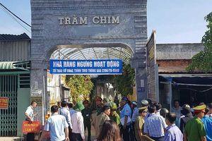 Huy động hàng trăm người cưỡng chế Tràm Chim resort