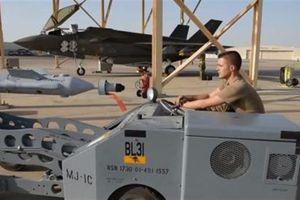 F-35A tại Al-Dhafra luyện đòn 'quái thú' đối phó Iran