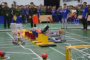 Học viện Kỹ thuật quân sự tổ chức chung kết cuộc thi Mini Robocon 2019