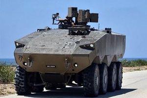Israel bắt đầu trang bị giáp Iron Fist cho xe bọc thép