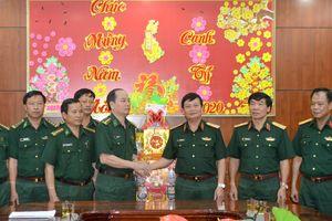 Lãnh đạo Quân khu 7 thăm và chúc Tết BĐBP Bình Phước