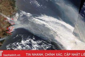 Khói do cháy rừng ở Australia vượt hơn 12.000 km đến Brazil