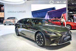 'Cận cảnh' Lexus LS 500h phiên bản kỷ niệm 30 năm, giá 7,38 tỷ đồng
