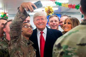 Tổng thống Trump từng thăm căn cứ quân sự vừa bị tấn công ở Iraq