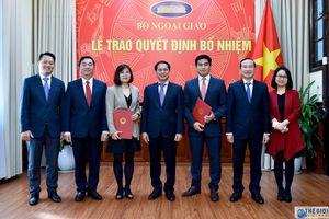 Bộ Ngoại giao, Bộ Nội vụ, Bộ Giáo dục - Đào tạo có nhân sự, lãnh đạo mới
