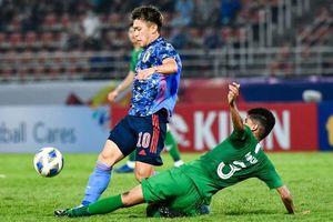 Cầu thủ Man City không thể giúp U23 Nhật Bản thoát thua trận ra quân
