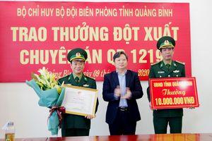 Quảng Bình: Khen thưởng Ban chuyên án triệt phá vụ vận chuyển 6 vạn viên ma túy qua biên giới