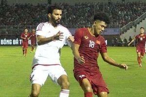 U23 Việt Nam - U23 UAE: Sự khởi đầu không dễ dàng
