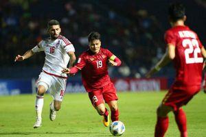 VCK U23 châu Á: Việt Nam-UAE bất phân thắng bại