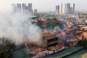 Vụ cháy Rạng Đông, sự cố nước Sông Đà là 'sự kiện môi trường' 2019