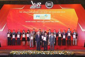 PVcomBank được vinh danh 'Top 500 doanh nghiệp lớn nhất Việt Nam'
