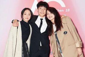Châu Tấn, Thư Kỳ dự sinh nhật 18 tuổi của con trai Trần Khôn