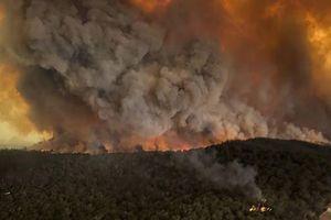 Australia đau đầu vì các đám cháy đang hợp nhất lại