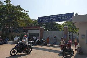 Hiệu trưởng Trường Phạm Văn Chiêu nói không giam lỏng giáo viên trong giờ làm