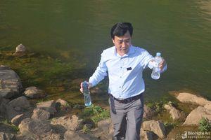 Nước vùng hạ du thủy điện Bản Vẽ có 'mùi lạ'