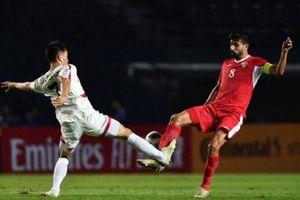 Hòa UAE, U23 Việt Nam nhận thêm tin kém vui