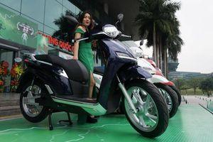 Pega ra mắt mẫu xe máy điện giống hệt Honda SH