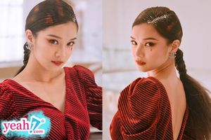 Hoàng Yến Chibi nổi bật trên thảm đỏ Giải thưởng truyền hình châu Á