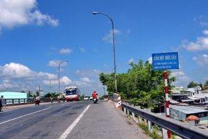 Đầu tư 144 tỷ đồng mở rộng một số cầu trên Quốc lộ 1 đoạn qua tỉnh Tiền Giang