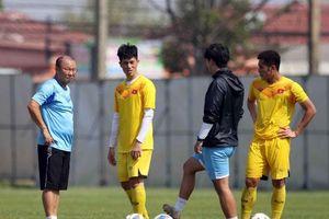 U23 Việt Nam đấu Jordan, báo Hàn Quốc lo cho thầy Park