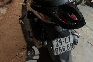 Hà Nội: Tìm được xe SH mất trộm nhờ Cảnh sát 141