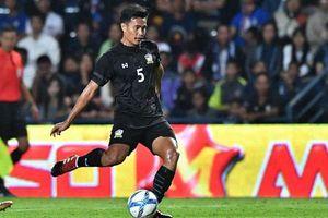 Trung vệ Thái Lan: 'Chúng tôi không có gì phải lo lắng khi gặp U23 Iraq'