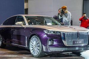 Xe Trung Quốc Hongqi H9 mới ra mắt: Sự pha trộn của nhiều hãng xe sang