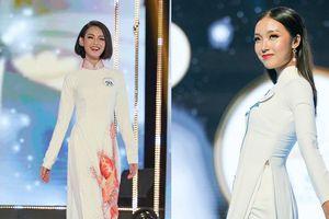 Mãn nhãn với phần trình diễn áo dài của Top 16 thí sinh tại Chung kết 'Nét đẹp Sinh viên HSU 2020'