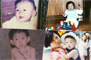 Ảnh hồi bé siêu đáng yêu của các diễn viên Hàn Quốc