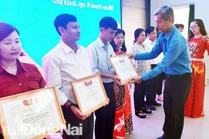 Liên đoàn Lao động TP.Long Khánh: Đạt và vượt 16 chỉ tiêu cơ bản trong hoạt động Công đoàn