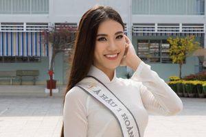 Á hậu Kim Duyên nói về việc 'trượt' vương miện 'Hoa hậu Hoàn vũ Việt Nam 2019'