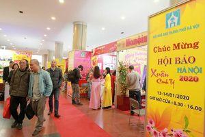 Báo An ninh Thủ đô giành giải A gian trưng bày Hội báo Xuân Hà Nội