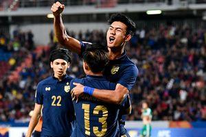 U23 Thái Lan giành vé vào tứ kết giải châu Á