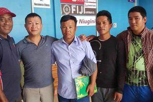 3 ngư dân rời quốc đảo Salomong