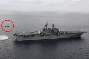 Mỹ 'vuốt mặt' Trung Quốc, mang tiêm kích F-35B ra huấn luyện sát biển Hoa Đông