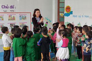 Tôn vinh những tấm gương điển hình trong giáo dục mầm non